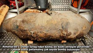 Köln'de 2. Dünya Savaşı'ndan kalma bomba bulundu