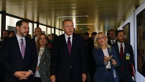 Cumhurbaşkanı Erdoğan, Hayat Devam Ediyor, Sanat Devam Ediyor sergisini ziyaret etti