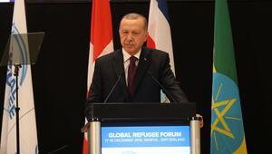 Erdoğandan liderlere Mülteciler İçin İş Birliği kitabı