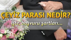Çeyiz parası nedir Evlenme ödeneği başvuru şartları nelerdir