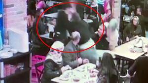 Garsona saldırdılar