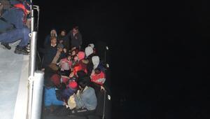 Çanakkalede 44 kaçak göçmen yakalandı