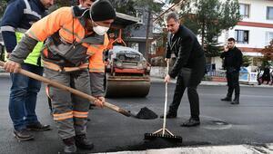Başkan Köse asfalt serdi
