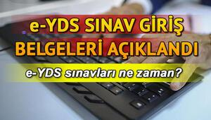 e-YDS sınav yerleri ÖSYM tarafından açıklandı - e-YDS 2019/13 İngilizce sınava giriş belgesi sorgulama