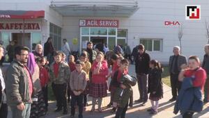 Erbaada 41 öğrenci, gıda zehirlenmesi şüphesiyle hastanelik oldu