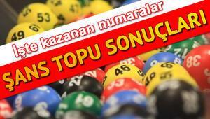 1 milyon TL Şans Topu çekiliş sonuçlarına göre 1 kişiye çıktı MPİ 18 Aralık Şans Topu sorgulama ekranı