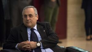 Lazio Başkanı Lotitodan ırkçılık açıklaması