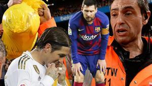 Son dakika haberi: Barcelona - Real Madrid maçı tarihte görülmemiş olaylara sahne oldu