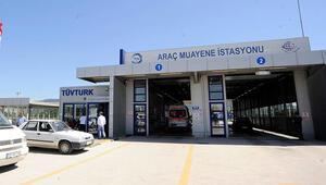 Türkiyede bu yıl 9,4 milyon araç muayeneden geçti