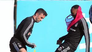 Beşiktaş, derbi hazırlıklarına başladı NKoudou takımla çalıştı...