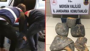 Mersin'de balina kusmuğu operasyonu: Değeri dudak uçuklattı