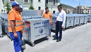 Mahallelere 4 bin çöp konteyneri