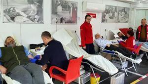 Babaeskide kan bağışı kampanyası