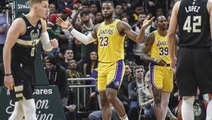 NBAde gecenin sonuçları | Zirvedeki düellonun galibi Bucks