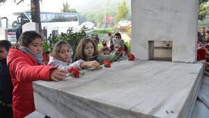 Mahmut Esat Bozkurt mezarı başında anıldı