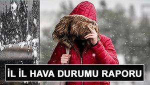 Hafta sonu hava nasıl olacak Kar ve yağmur yağacak mı 21 22 Aralık hava durumu raporu