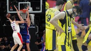 Anadolu Efes averajla 3. sıraya geriledi Fenerbahçe Beko ise...