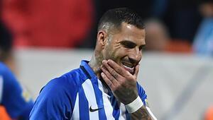 Kasımpaşada Ricardo Quaresma iki kez penaltı atışını kaçırdı