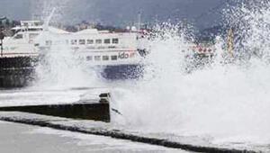 İstanbulda İDO ve BUDOdan sefer iptalleri