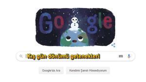 2019 Google kış gün dönümü doodle: Kış gün dönümü ne demek Kış gün dönümü nasıl kutlanır