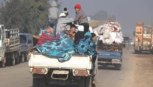 Son dakika... 25 bin sivil daha Türkiye sınırı yakınlarına göç etti