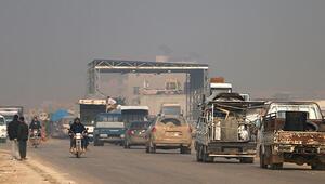 İdlib'den 2 günde 25 bin kişi göç etti