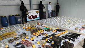 Terör örgütü PKKya büyük darbe Cephane sevk ağı çökertildi... Beşiktaşa patlayıcı götürenler yakalandı