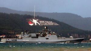 Rus savaş gemisi Admiral Makarov, Çanakkale Boğazından geçti