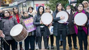 Londra'da Türk kadınlardan 'Las Tesis' rüzgarı