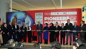 Cumhurbaşkanı Erdoğan, İstanbul Havalimanında sergi açılışına katıldı