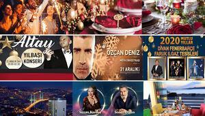 Canlı Müzikli, Konaklamalı, Yemekli Yeni Yıla Özel İstanbul Eğlenceleri…
