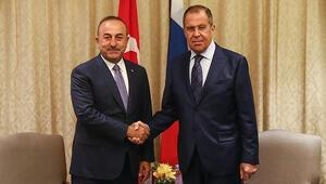 Son dakika: Bakan Çavuşoğlu Lavrov ile görüştü