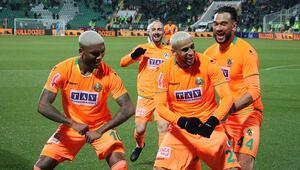 Denizlispor 1-5 Alanyaspor | Maçın golleri ve özeti