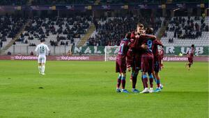 Trabzonspor, deplasmanda Başakşehir ile birlikte zirvede