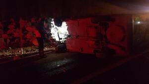 Adıyamanda trafik kazası: 1 ölü, 4 yaralı