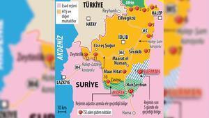 İki Türk karakolunu rejim çevreledi