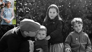 Prens William çocuklarıyla birlikte poz verdi: Peki ya Kate Middleton nerede