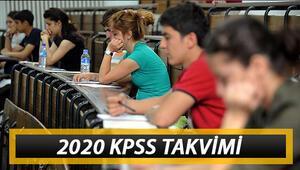 2020 KPSS başvuruları ne zaman başlayacak KPSS sınavları ne zaman
