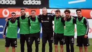 Beşiktaş, 3 eksikle çalıştı