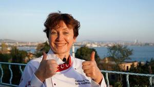 Rus şef Türk mutfağının lezzetlerini ve baharatlarını ülkesine tanıtıyor