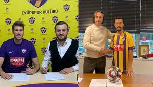 Mehmet Özdıraz ve Murat Yılmaz Eyüpsporda