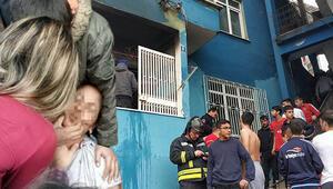 Evi yakanı bulun diye feryat edip bayıldı, evi yaktığı iddiasıyla gözaltına alındı