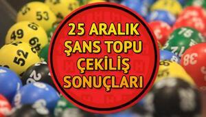 Şans Topu çekilişinde 881 bin TL sahibini buldu - MPİ Şans Topu çekiliş sonuçları sorgulama linki (25.12.2019)