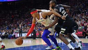 Philadelphia 76ers - Milwaukee Bucks maçından kareler