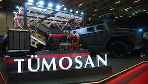 Özel Maksatlı Taktik Tekerlekli Zırhlı Araça yerli ve milli motor