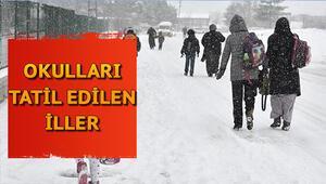 Gözler valiliklerde: Okullar hangi ilde kaç gün tatil Ankara ve Adanada okullar tatil mi