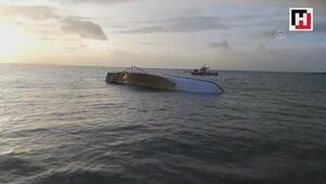 Van Gölünde düzensiz göçmenleri taşıyan tekne battı: 7 kişi öldü