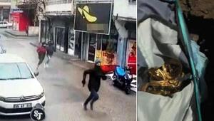 İzmirde kuyumcu soyguncuları yakalandı, gömdükleri altınlar çıkarıldı