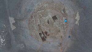 Suların çekilmesiyle ortaya çıktı 12 bin yıllık olduğu belirlendi...