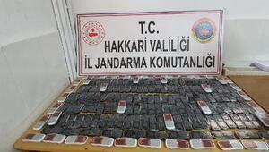 Derecikte 270 kaçak cep telefonu ele geçirildi